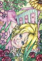 Alice in Wonderland,#6, 2016, Mischtechnik/Papier,65x45cm