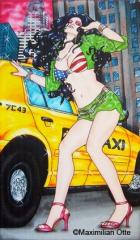 Traffic Jam, 2008, Acryl/Leinwand, 120x70cm