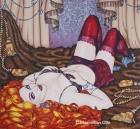 Amber, 2009, Acryl/Leinwand, 120x130cm