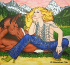 Cowboys And Angels 3, 2006, Acryl/Leinwand, 140x150cm