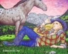 Cowboys And Angels 13, 2007, Acryl/Leinwand, 120x150cm