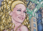 5th Avenue, 2010, Mischtechnik/Papier, 59,3x81,5cm