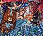 Stardust, 2018, Acryl/Molino, 125 x 150 cm