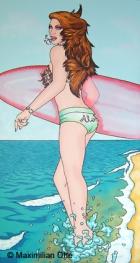 I Love Hawaii, 2004, Acryl/Leinwand, 170x90cm