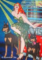 Miss Acid Rock, 2004, Acryl/Leinwand, 170x120cm