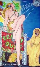 Miss V.I.P, 2004, Acryl/Leinwand, 170x100cm