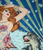 Miss Bubble Gum, 2005, Acryl/Leinwand, 140x120cm