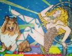 Miss Golden Breeze, 2005, Acryl/Leinwand, 140x180cm