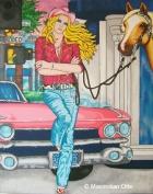 Rodeo Drive, 2005, Acryl/Leinwand, 180x140cm