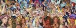 Playback, 2015, Acryl/ Leinwand, 200x525cm